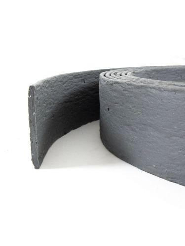 Multi-Edge ECO borderrol 20m lengte, 10cm hoogte, kleur grijs