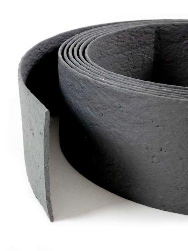 Multi-Edge ECO borderrol 10m lengte, 20cm hoogte, kleur grijs